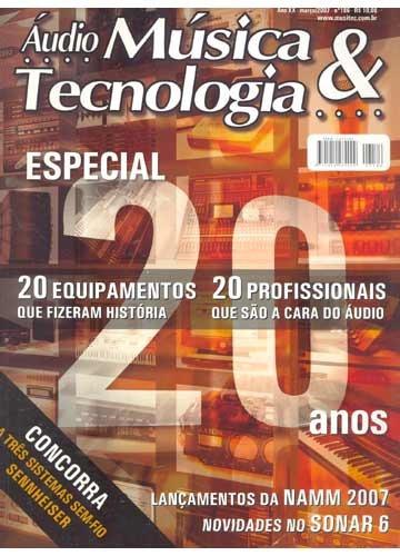 revista áudio música & tecnologia - 63 edições