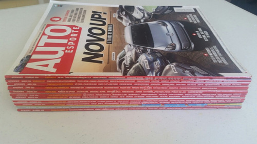 revista auto esporte ano 2014