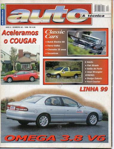 revista auto & técnica nº 40- 1998