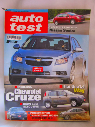 revista auto test nro 240 octubre 2010