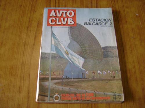revista autoclub año 1972