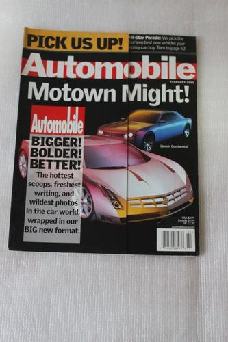 revista automobile - motown might! - importada