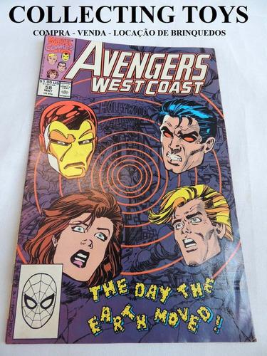 revista avengers - em inglês - marvel - 1990   (e 93)