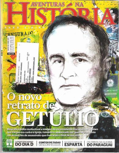 revista aventuras na história 106 o novo retrato de getúlio