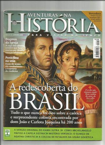 revista aventuras na história brasil ed.54 janeiro 2008