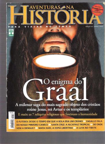 revista aventuras na história nº 59 - o enigma do graal