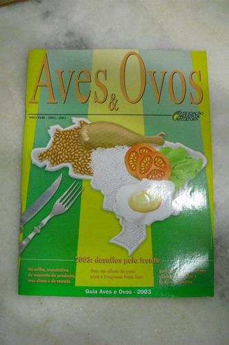 revista aves e ovos - ano xviii -2002/2003