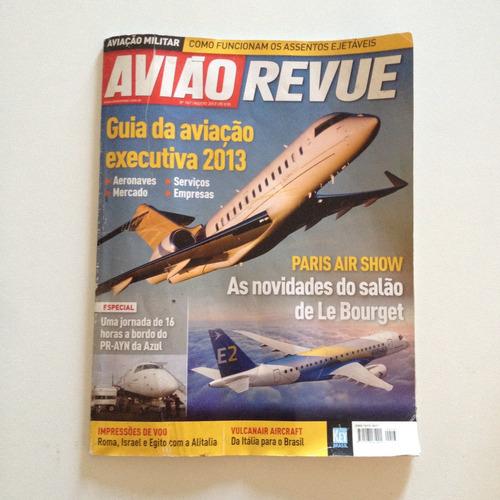 revista avião revue 167 ago2013 guia da aviação executiva c2