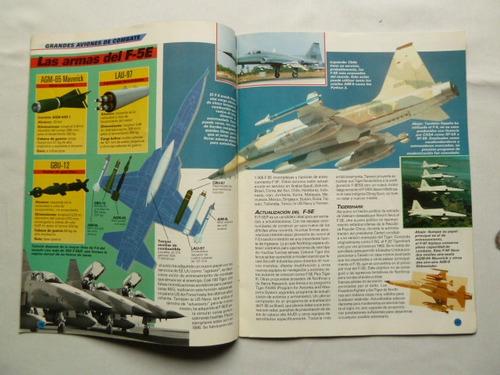 revista aviones de guerra especial f-5 northrop n° 32