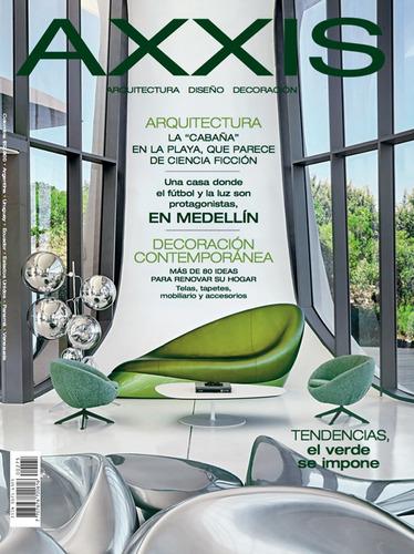 revista axxis - 275. tendencias, el verde de siempre