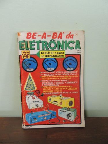 revista bê-a-bá da eletrônica nª 12 nov 1983
