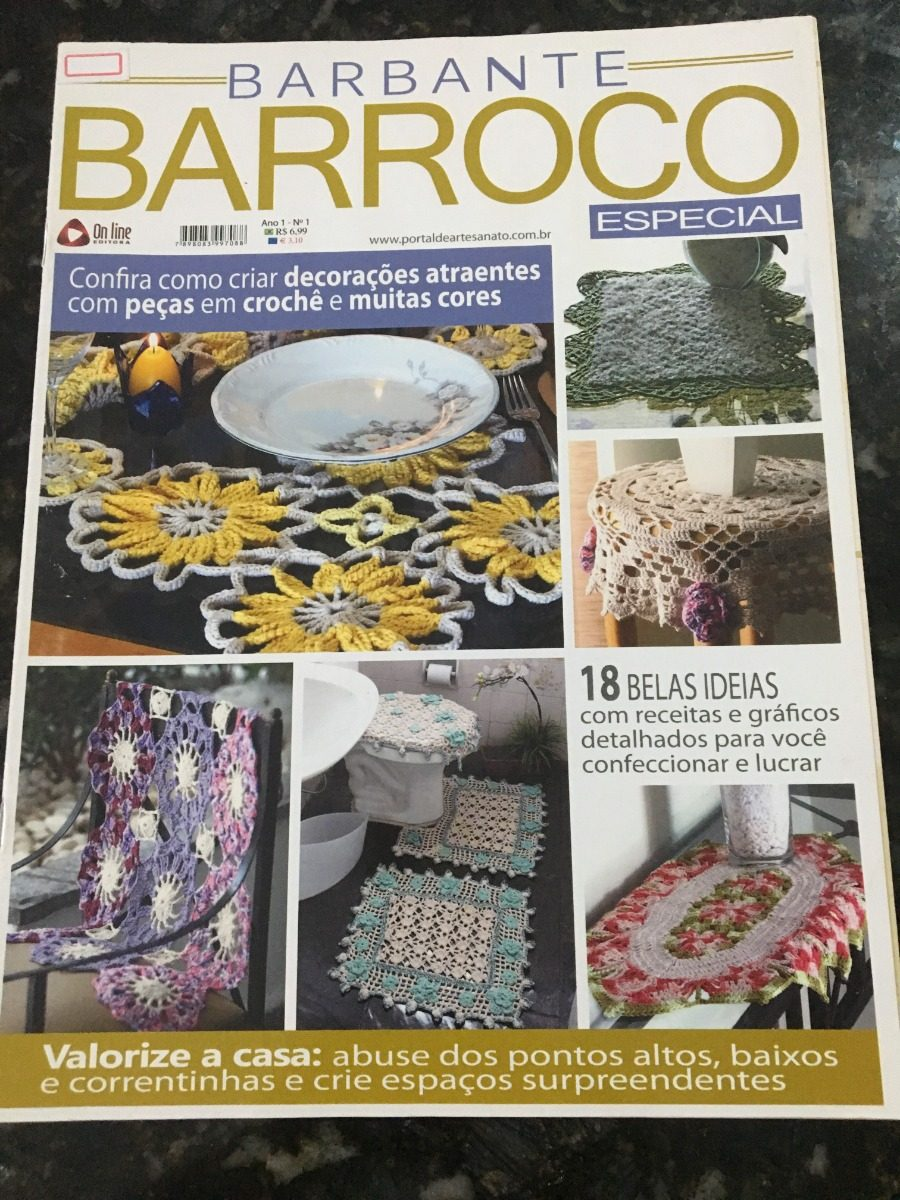 revista barbante barroco para