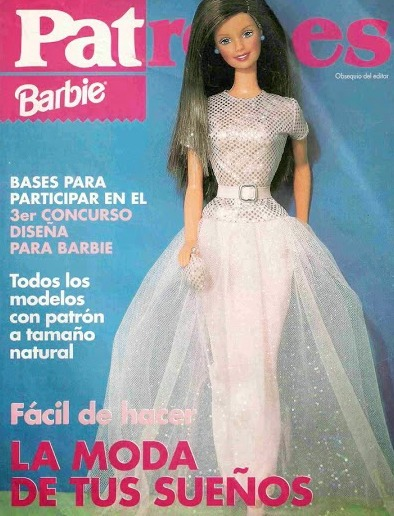 revista barbie patrones vestidos de novia pdf envio gratis - $ 69,30