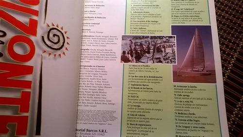 revista barcos yates regatas veleros  crucero