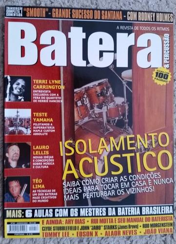revista batera nº 58 isolamento acústico