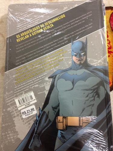 revista batman planetary edição de luxo capa dura