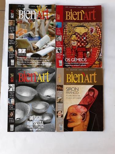 revista bien´art exposição de pinturas a óleo 8 revista