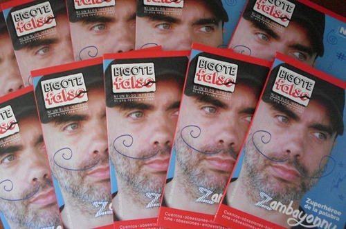 revista bigote falso: pack 1, 2, 4