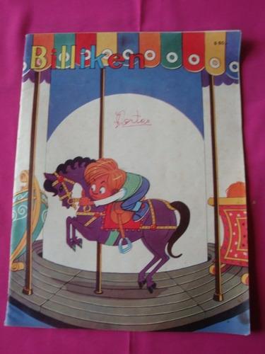 revista billiken n° 2448 1966 aventuras viejo pirata nick