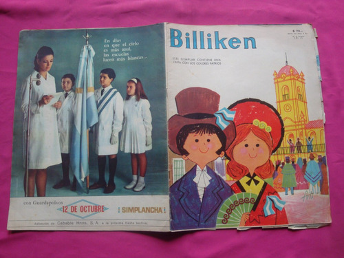 revista billiken n° 2470 año 1967