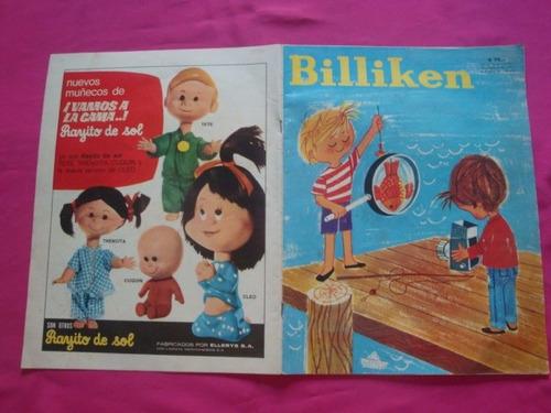 revista billiken n° 2524 1968  con laminael maiz