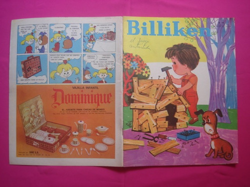 revista billiken n° 2597 publicidad buby rayito de sol
