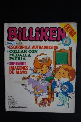 revista billiken nº 2783 mono relojero