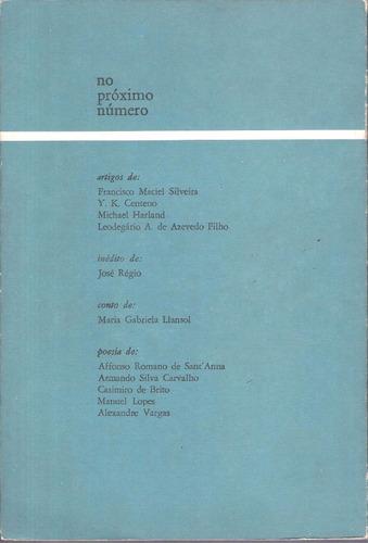 revista bimestral colóquio letras número 48 março de  1979