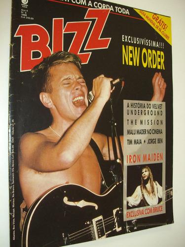 revista bizz antiga anos 80 rock pop new order iron maiden
