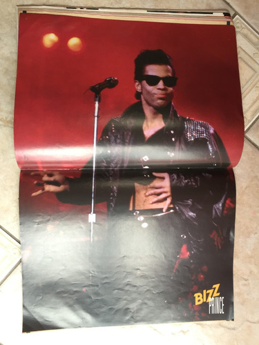 revista bizz billy idol madonna titãs prince ano 1986 n°13