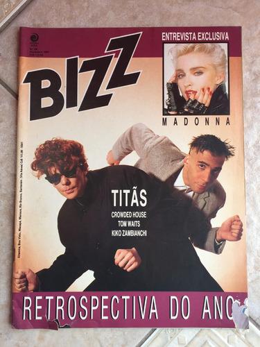 revista bizz madonna titãs michael jackson ano 1987 n°29