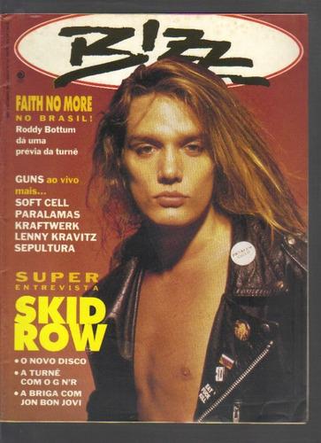 revista bizz nº 74 - setembro/1991 - editora azul