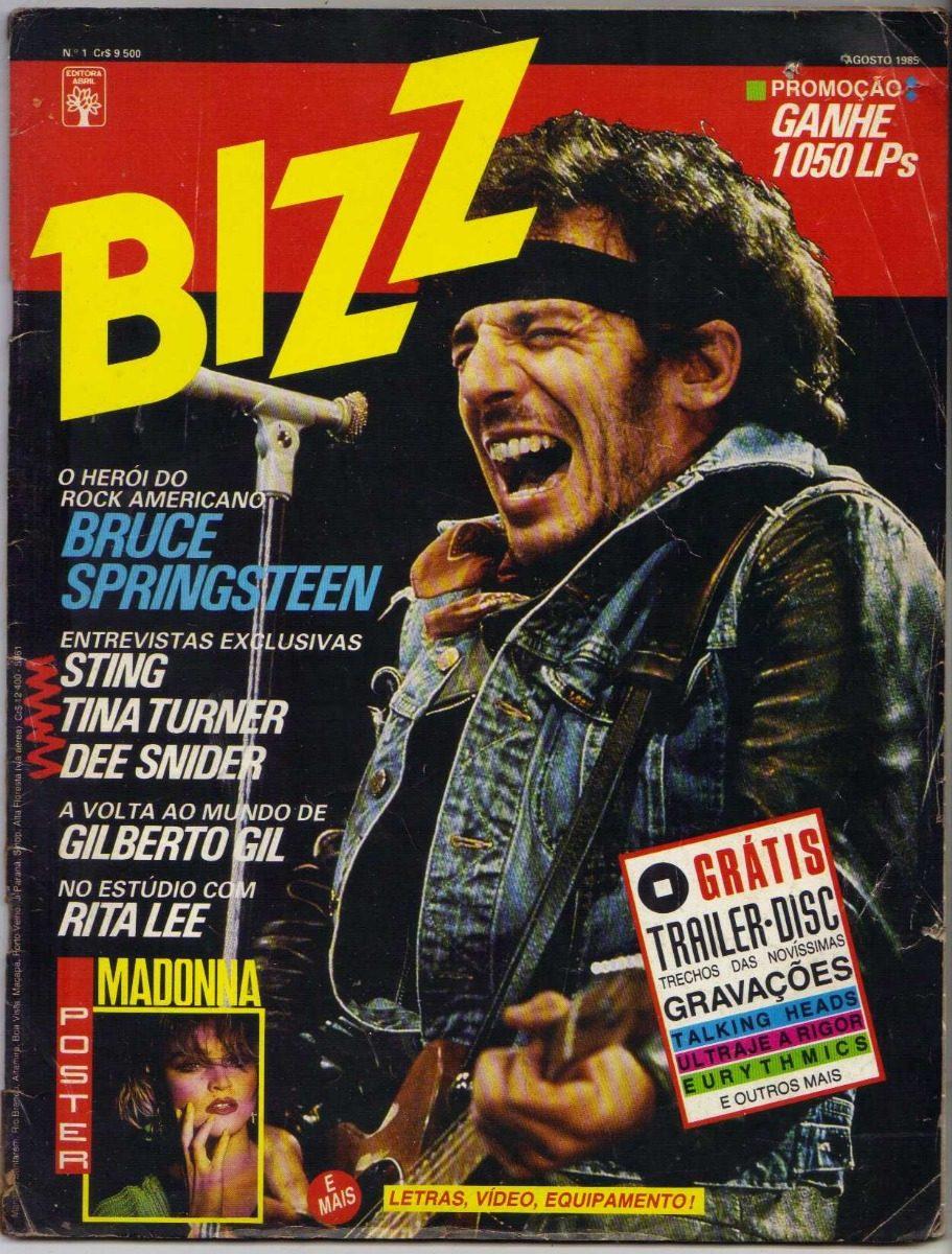 934c2b019a Revista Bizz Para Colecionador 001 Ao 010 - Vendo Separado - R  856 ...