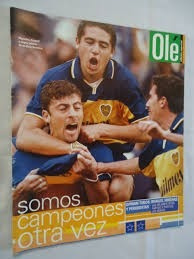revista boca campeon clausura 1999 ole