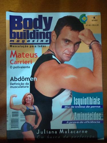 revista - body building - mateus carrieri nº48