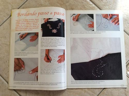 revista bordados com miçangas 10 passo a passo 20 sugestões