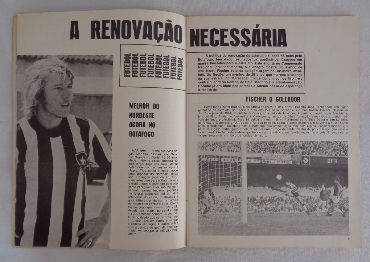 Revista Botafogo N°2 Futebol 1972 - R  45 2bb761c902ec0