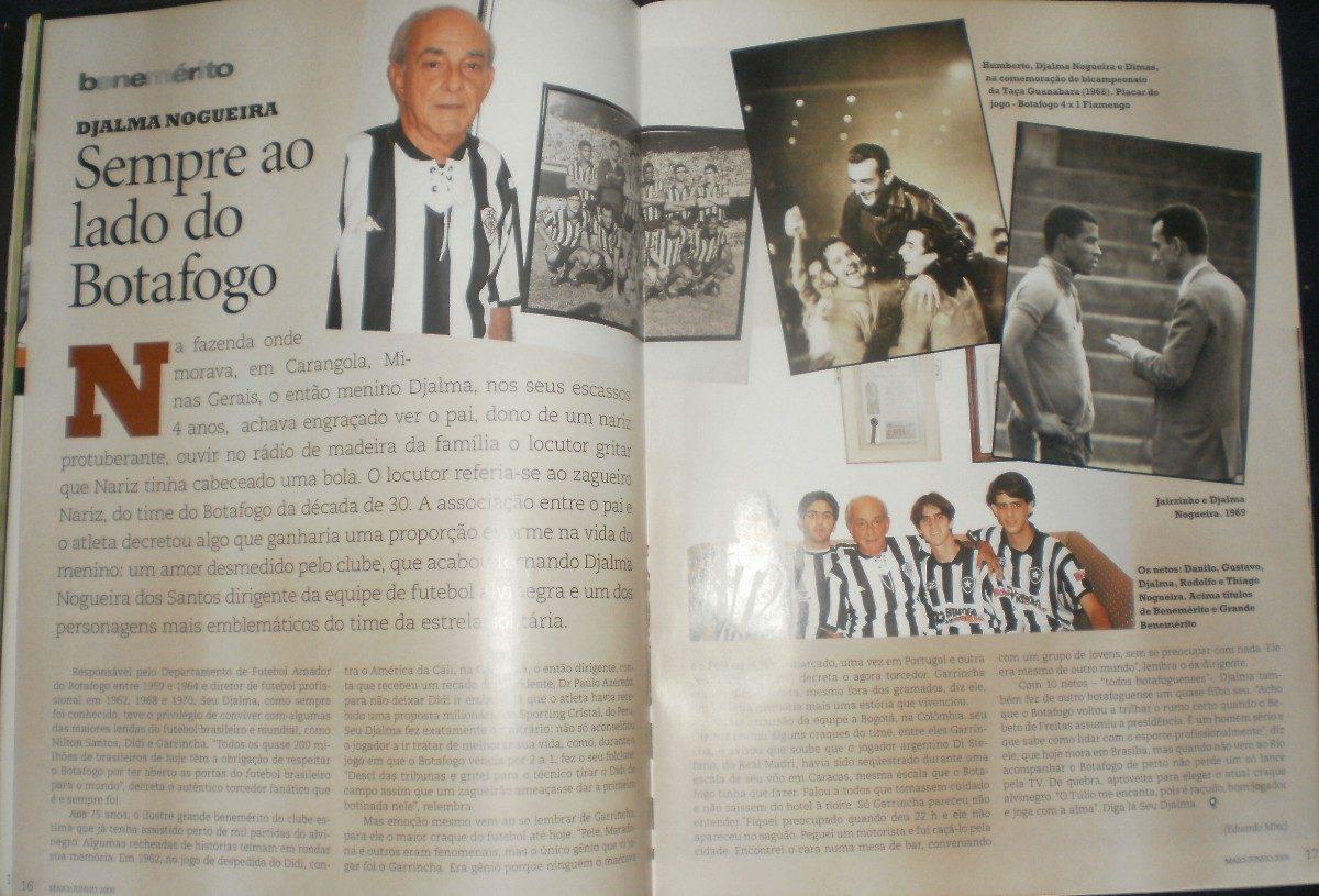 Revista Botafogo No Coração Nº 1- Maio E Junho De 2005 - R  35 fcca101e775b0