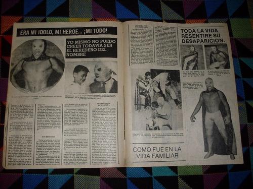 revista box y lucha #1677 especial el santo primer aniv. !