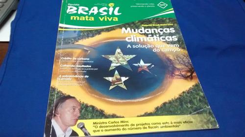 revista brasil mata viva mudanças climáticas r$ 10,00