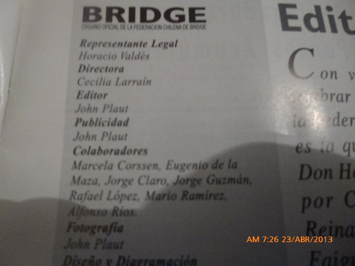revista  bridge agosto  1997 (435w