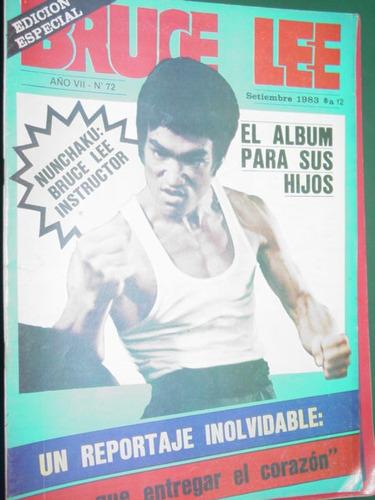 revista bruce lee artes marciales kung fu karate nro. 72