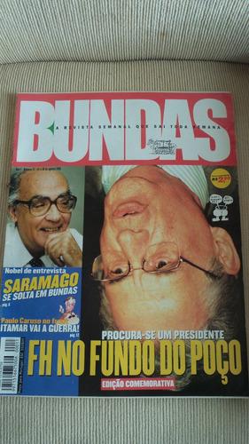 revista bundas nº 11 de agosto 1999 - raridade