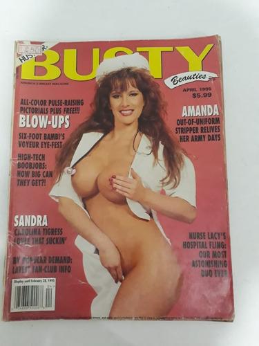 revista busty beauties antiga para colecionadores!!!