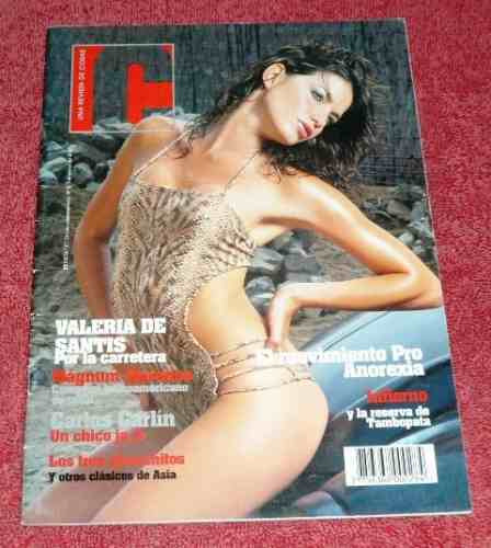 revista c cosas 2005 valeria de santis modelos anorexia surf