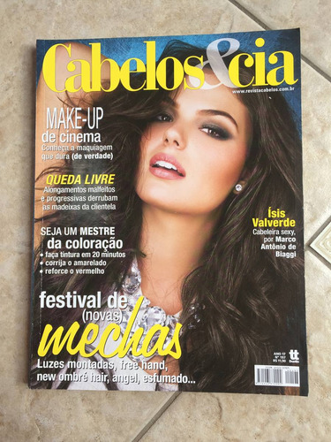 revista cabelos e cia ísis valverde ano 2012 n°197