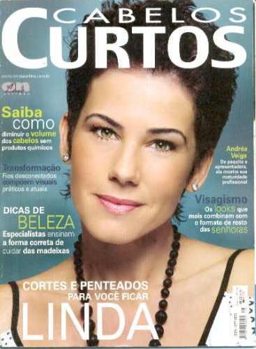 revista cabelos: ex paquita andréa veiga / maquiagem senhora