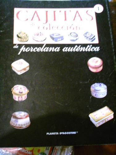 revista cajitas porcelana y esmalte de coleccion europa