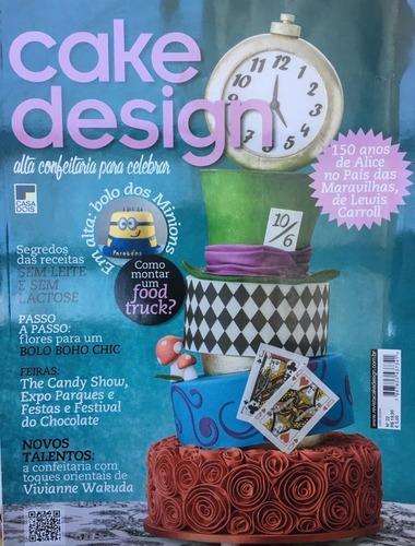 revista cake design e bolos. faça, venda e lucre!