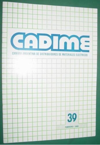 revista camara argentina distribuidores material electrico